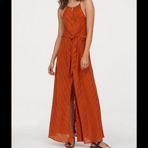 H&M Conscious Orange Maxi Dress